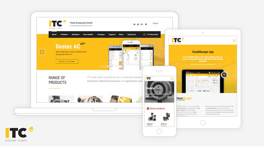 ITC Website Responsive Devices